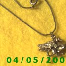 Silver Necklace w/Flying Horse    E5029