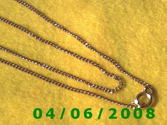 Gold Necklace     E5035