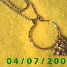 Gold Necklace w/Charms (Avon)      E6005