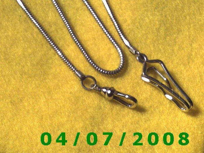 Silver Watch Chain    E6011