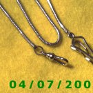 Silver Watch Chain    E6011
