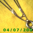 Silver Necklace w/Pendulum     E6016