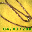 Gold and Red Necklace     E6017