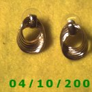 Gold Pierced Earrings     Q011