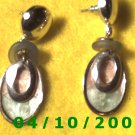Silver Pierced Earrings     Q013