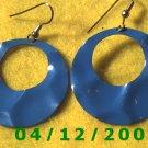 Blue Pierced Earrings     Q1014