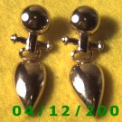 Gold Pierced Earrings     Q1018