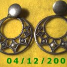 Silver Pierced Earrings     Q1023
