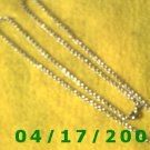 Silver Necklace      E3009