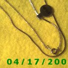 Gold Necklace     E3013
