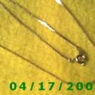 Gold Necklace     E3016