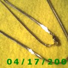 Gold Necklace    EI001