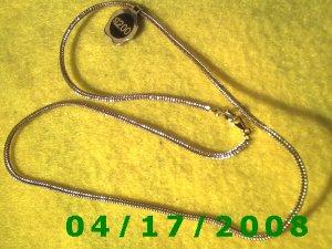 Square Gold Necklace    EI002