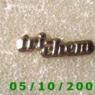 Gold Tri-chem Pin    (119)