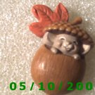 Baby In Acorn Pin  (114)