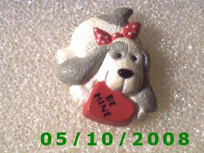 Puppy With Valentine   (112)