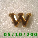 "Plastic Letter ""W"" Pin  (109)"