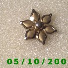Silver Flower Pin  A080