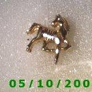 Gold Zebra Pin A086