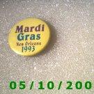 Mardi Gras 1993 Pin