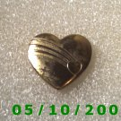 Gold Heart Pin signed Variety Club USA 98  A028
