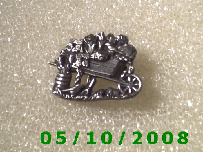 Silver Pin Signed Birds & Blooms Limited Edition  026