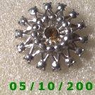 Silver w/Topaz Stone Pin