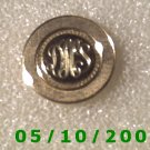 Silver Letter (   ) ? Pin signed Lamode Karatclac