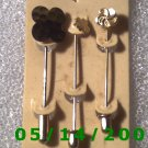 Trio Stick Pins      B051