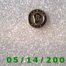 Gold n Black B Junior Beta Pin   BB004