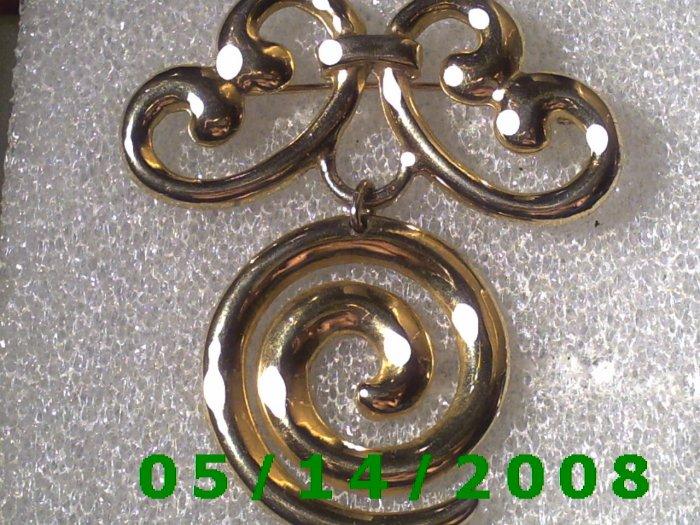 Gold Pin    B019