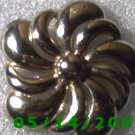 Silver Flower Pin    B009