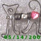 Cat Pin    B006
