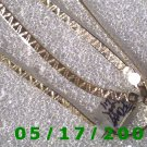 "24"" Silver .925  Necklace 4mm Italy (003)"