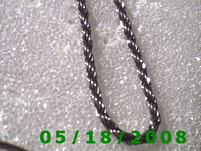 "7.5"" Silver  Bracelet Korea (006) (056)"