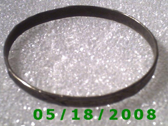 "Silver Bracelet 2 1/8"" Inside Diameter (007)"