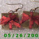 Present Pierced Earrings     C012