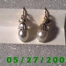Gold n Pearls Clip On Earrings    D029