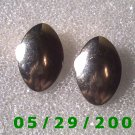 Silver Clip On Earrings    D040