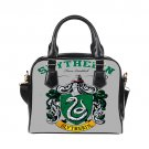 Slytherin Harry Potter Shoulder Handbags Twin Sides Tote Purse Womens Bags Ladies Top Handle