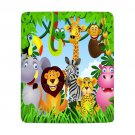 Personalized Kid Animal Jungle Ultra-Soft Micro Fleece Blanket 50*60 Blanket One Side