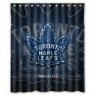"Personalized Toronto Maple Leafs Ice Hockey Team Hockey League Bathroom Shower Curtain 60""x 72"""