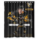 "Sidney Crosby, C, NHL's Pittsburgh Penguins Waterproof Bathroom fabric Shower Curtain 60""x 72"""