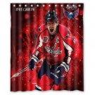 "Alex Ovechkin, LW, NHL's Washington Capitals Waterproof Bathroom fabric Shower Curtain 60""x 72"""