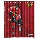 "Patrick Kane, RW, Chicago Blackhawks NHL Waterproof Bathroom fabric Shower Curtain 60""x 72"""
