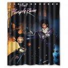 "Prince Purple Rain Rock Soul Blues Music Waterproof Bathroom Shower Curtain 60""x 72"""