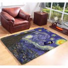 Dr Who Tardis Starry Night Decor Floor 5'x3'3'' Room Carpet Room Home Kichent Coffe's Area Rugs
