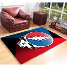 Personalized Grateful Dead Carpet Living Room 5'x3'3'' Home Kichent Coffe's Most Popular Area Rugs
