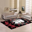 Personalized Betty Boop Carpet Living Room 5'x3'3'' Home Kichent Coffe's Most Popular Area Rugs