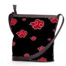 Naruto Akatsuki Cloud Shoulder Handbags Best Anti Theft Sling Bags Ladies Women's Teen Retro